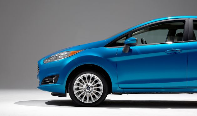 2014 Ford Fiesta front-half