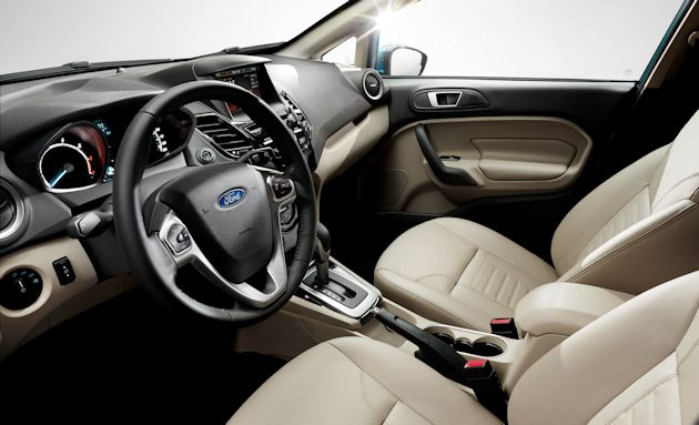 2014 Ford Fiesta interior