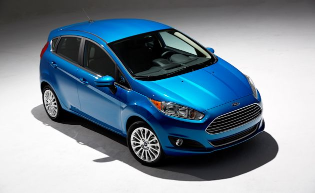 2014 Ford Fiesta over