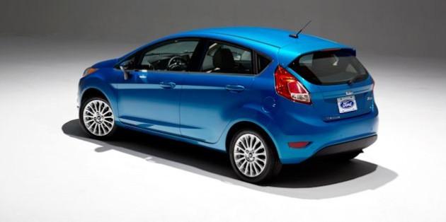 2014 Ford Fiesta rearDQ