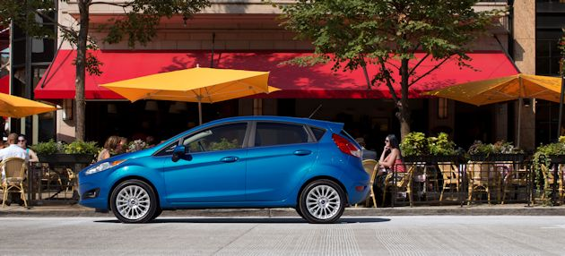 2014 Ford Fiesta side