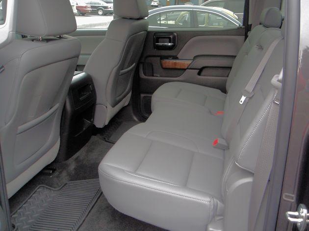 2014 GMC Sierra rear seat