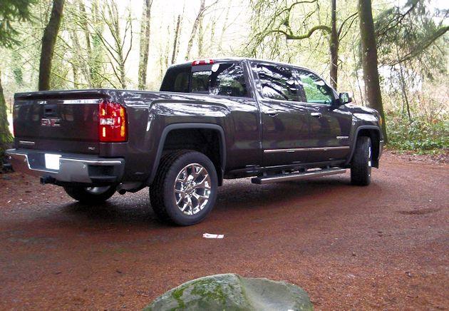 2014 GMC Sierra rear