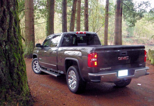 2014 GMC Sierra rearD