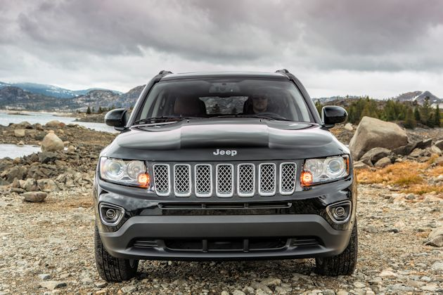 2014 Jeep Compass front