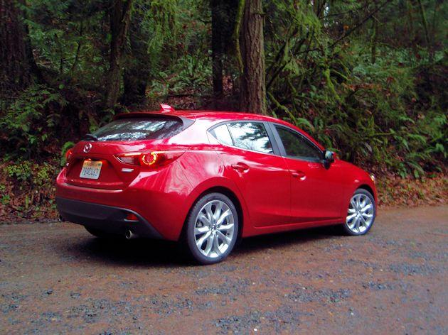 2014 Mazda Rrear