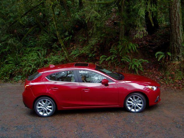 2014 Mazda side