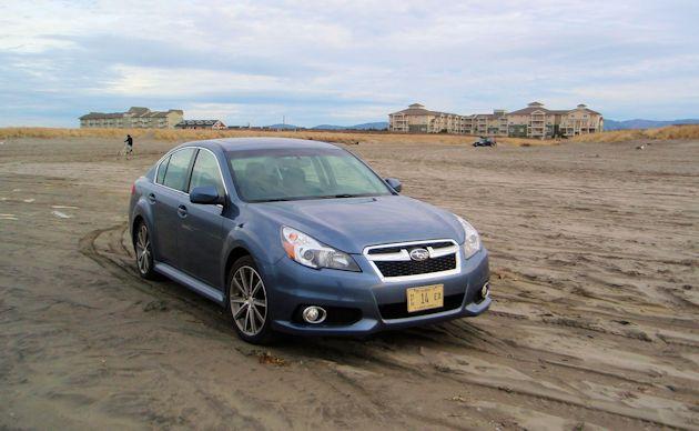 2014 Subaru Legacy front