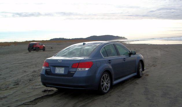 2014 Subaru Legacy rear