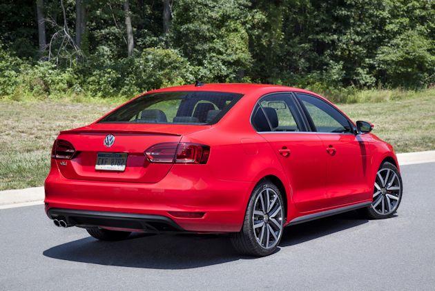 2014 Volkswagen Jetta rear