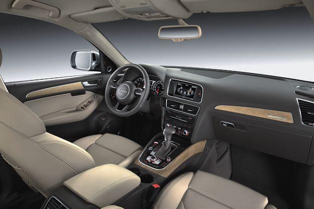 2605 Audi Q5 TDI interior