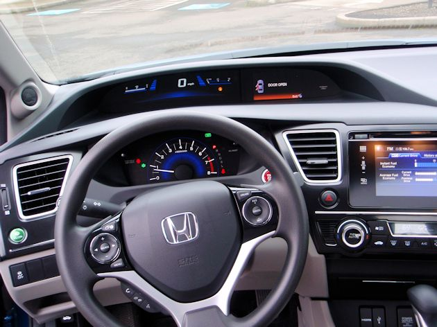 2014 Honda Civic dash