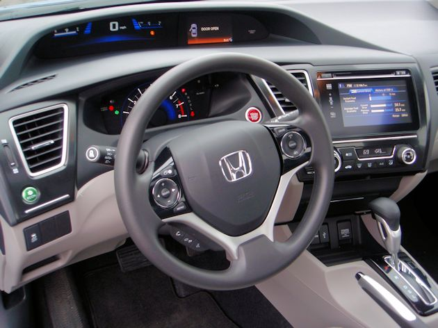 2014 Honda Civic dash2