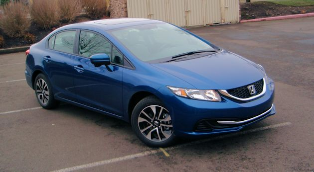 2014 Honda Civic front