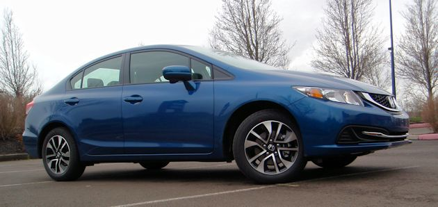 2014 Honda Civic frontQ