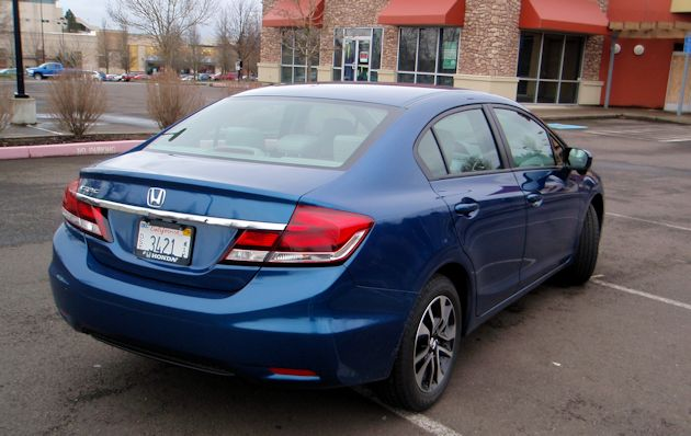 2014 Honda Civic rear