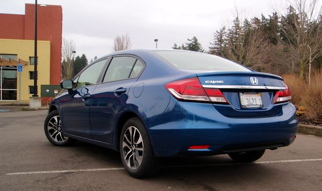 2014 Honda Civic rear2