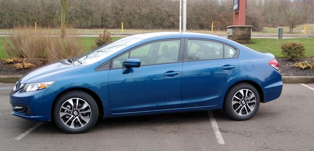 2014 Honda Civic side