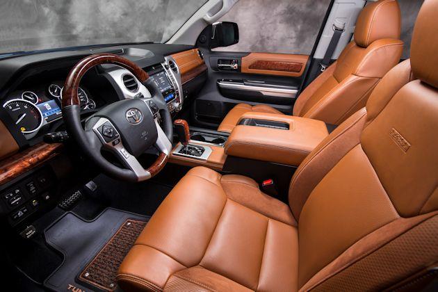 Toyota Tundra 1794 Interior