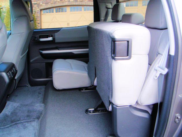 2014 Toyota Tundra rear seat