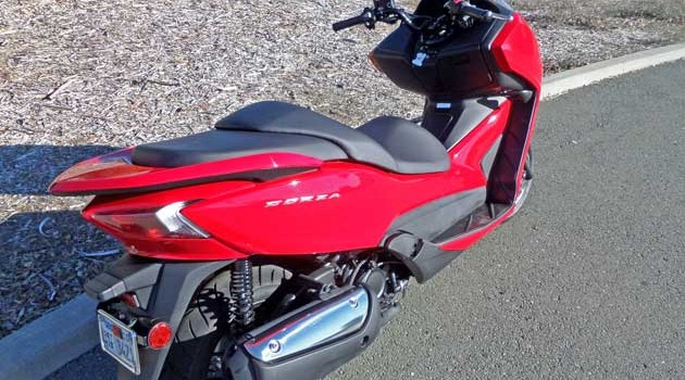 2014 Honda Forza Scooter Test Ride