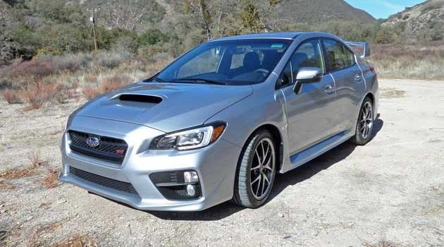2015 Subaru WRX STI Test Drive