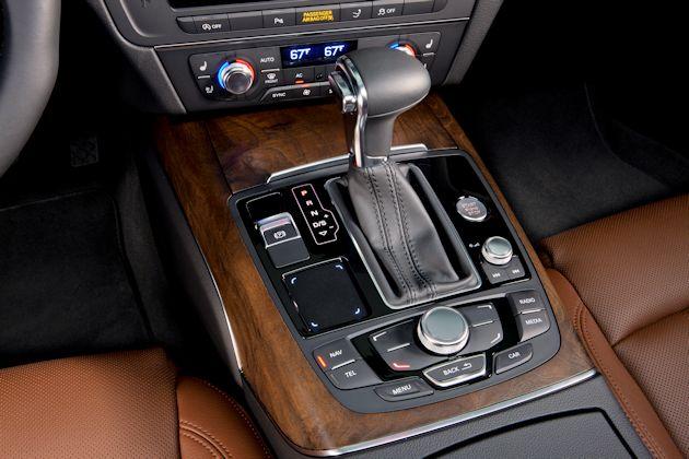 2014 Audi A7 TDI console