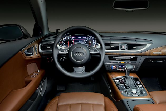 2014 Audi A7 TDI dash-closed