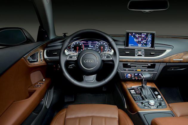 2014 Audi A7 TDI dash-open