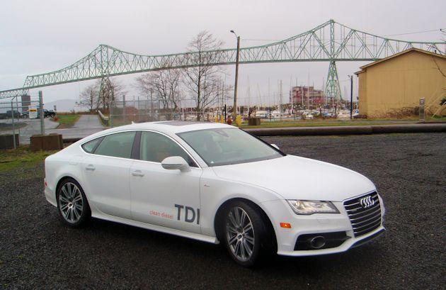 Audi A7 TDI Test Drive