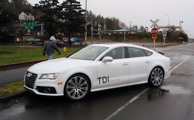 2014 Audi A7 TDI frontQ3