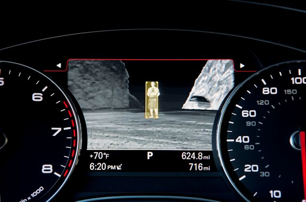 2014 Audi A7 TDI night vision