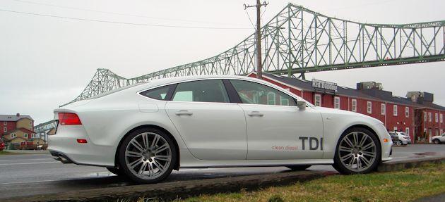 2014 Audi A7 TDI side2