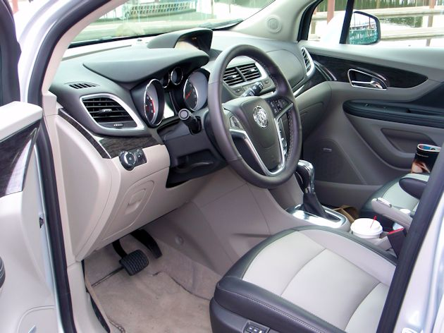 2014 Buick Encore interior2