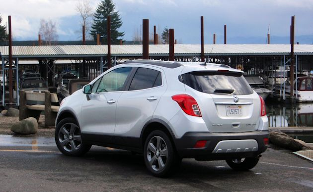 2014 Buick Encore rear