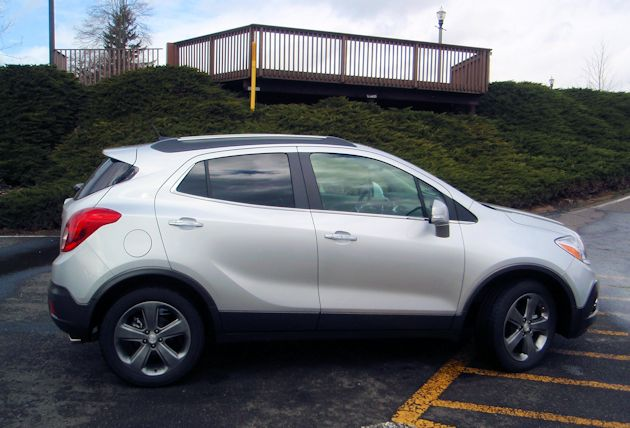 2014 Buick Encore side3