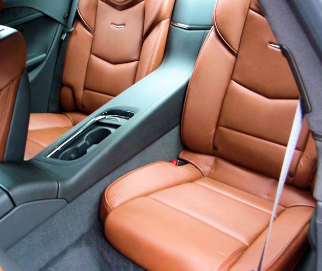 2014 Cadillac ELR Rseat
