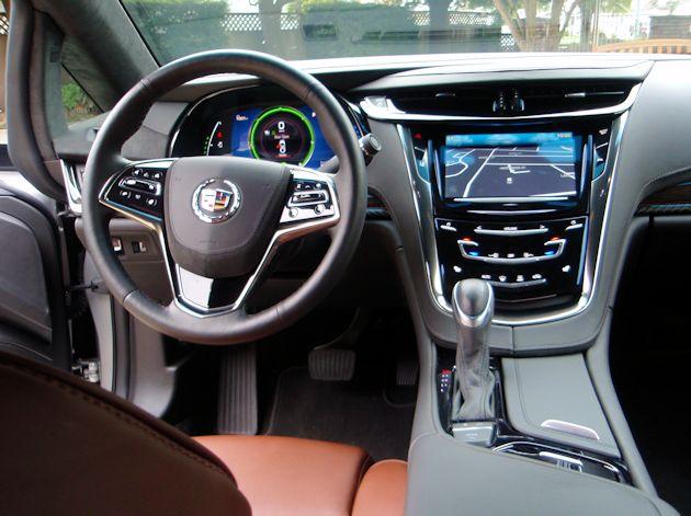 2014 Cadillac ELR dash