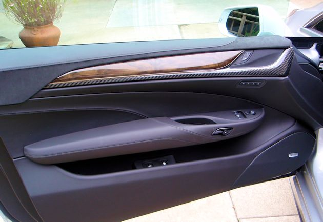 2014 Cadillac ELR door