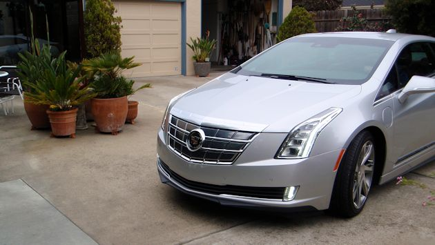 2014 Cadillac ELR front half