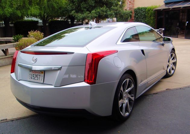 2014 Cadillac ELR rear