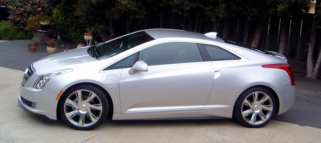 2014 Cadillac ELR side