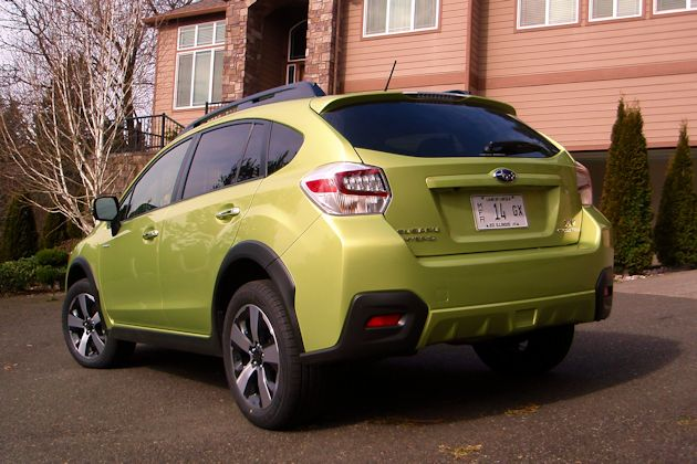 2014 Subaru XV CrossTrek rear