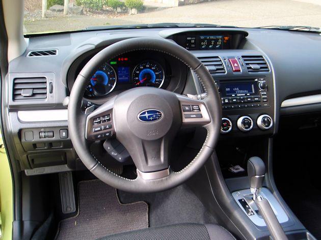 2014 Subaru XV Hybrid dash