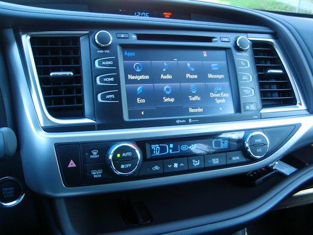 2014 Toyota Highlander Entune