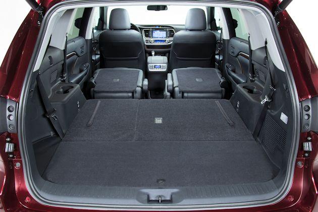 2014 Toyota Highlander cargo