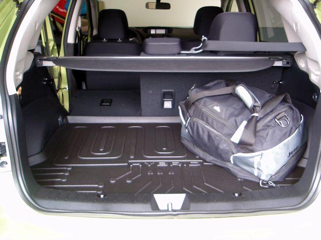 2014Subaru XV Crosstrek Hybrid cargo