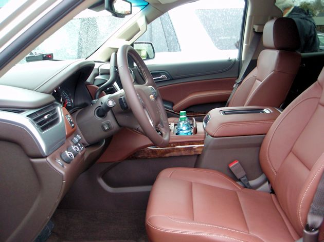 Full Size SUVs Suburban interior