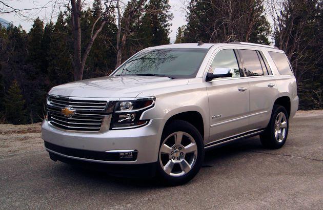 Full Size SUVs Tahoe front