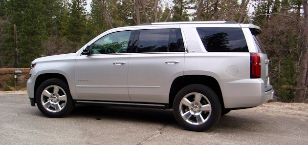 Full Size SUVs Tahoe side
